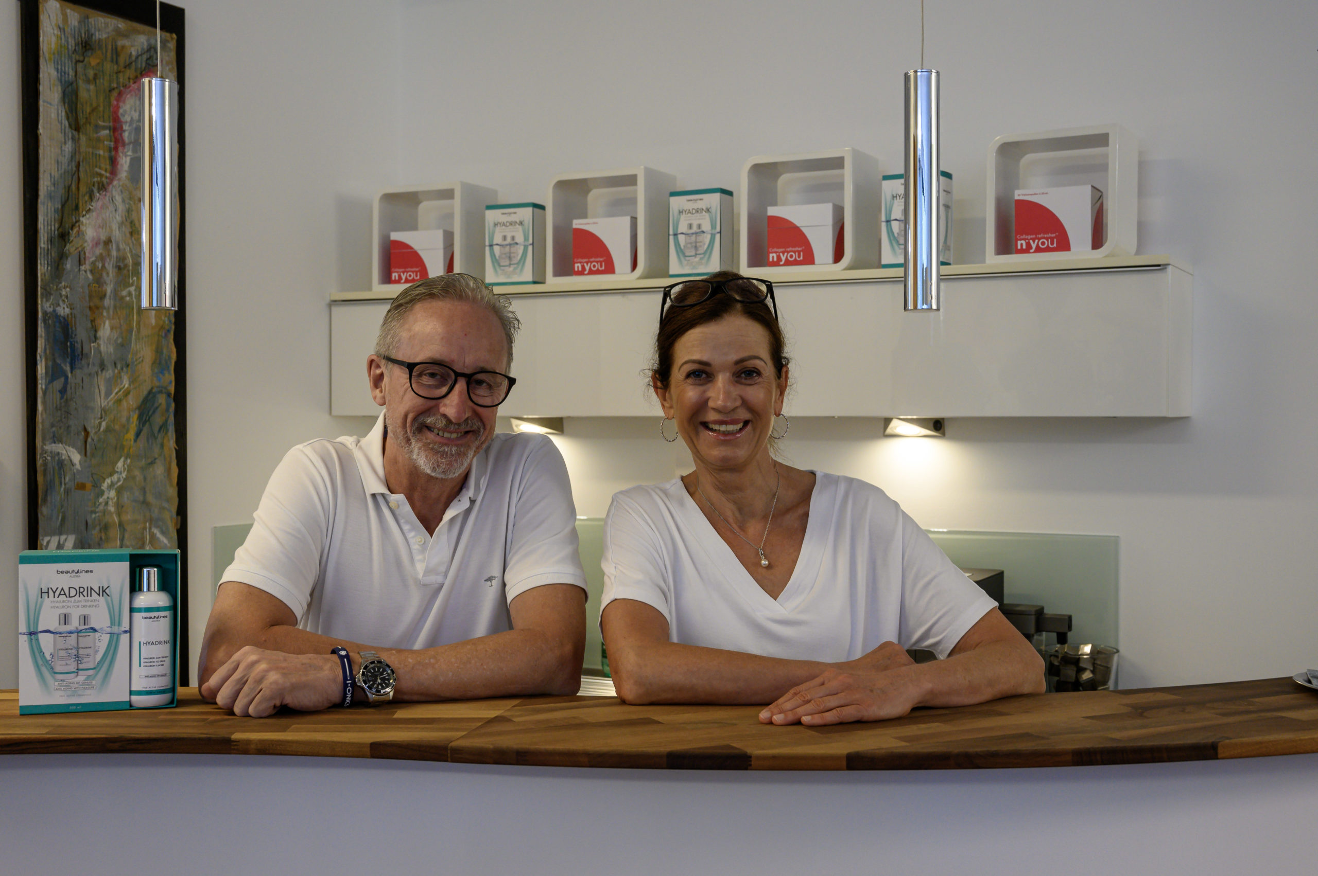 Herbert und Andrea Graf medfit Dornbirn